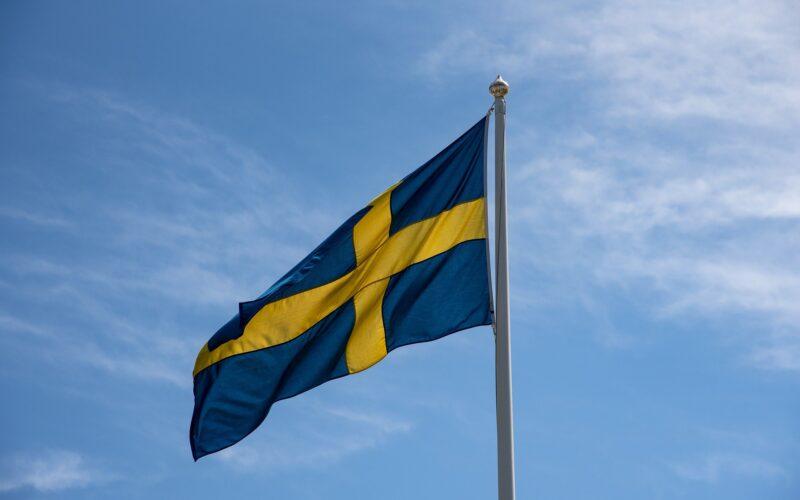 Svensk flagga som symboliserar svensk film som vi gör recension av