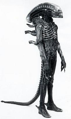 Exempel på designen för Alien