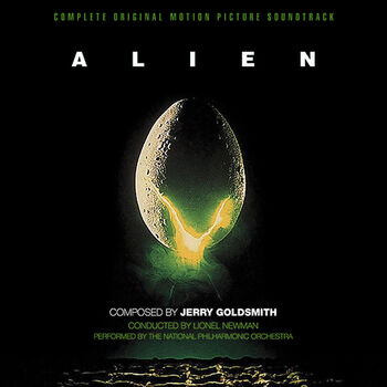 Aliens poster från Soundtrack