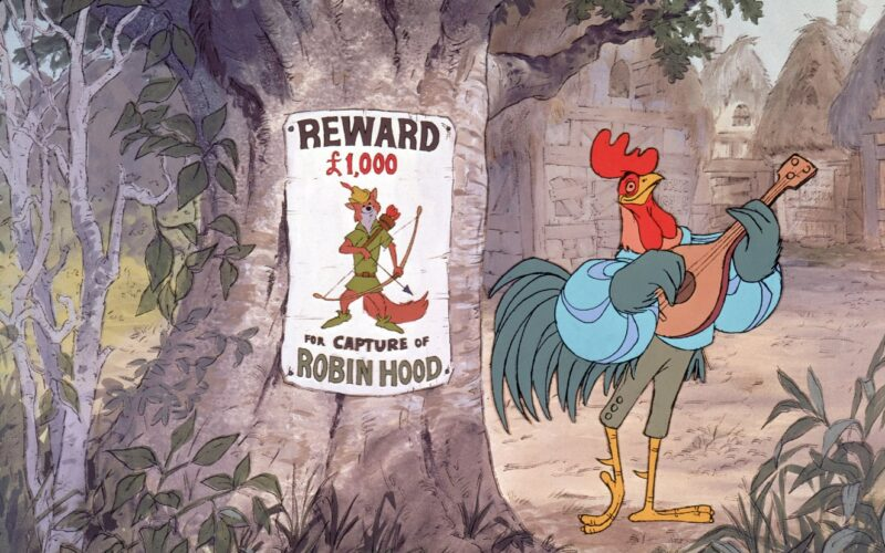 Oliver belönar Robin Hood med tredje pris bland animerade filmer