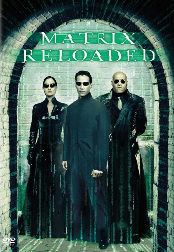 Matrix Reloaded Filmposter