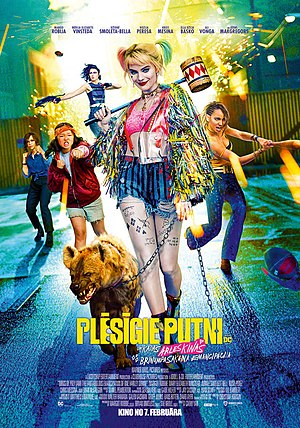 Poster från Birds of Prey (and the Fantabulous Emancipation of One Harley Quinn)