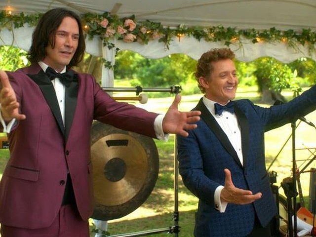 Bill and Ted Face the Music spelar bröllop