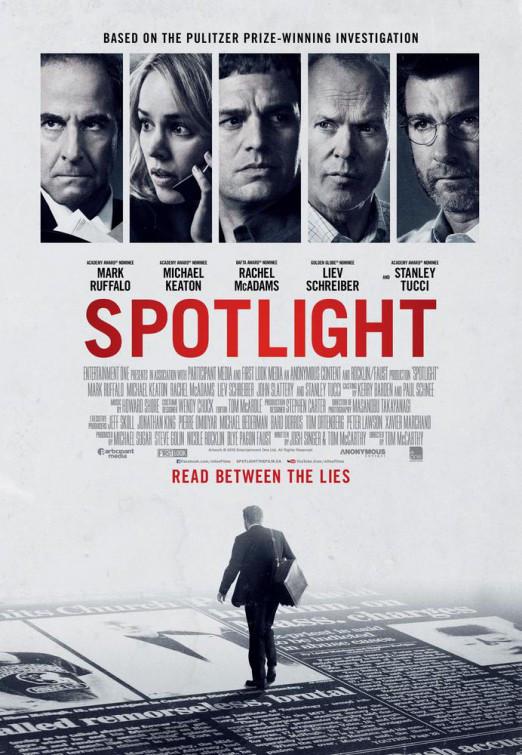Poster från filmen Spotlight (2015)