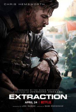 Extraction (2020) poster