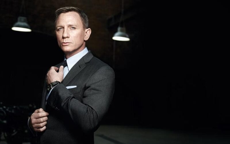 No Time to Die Daniel Craig som James Bond