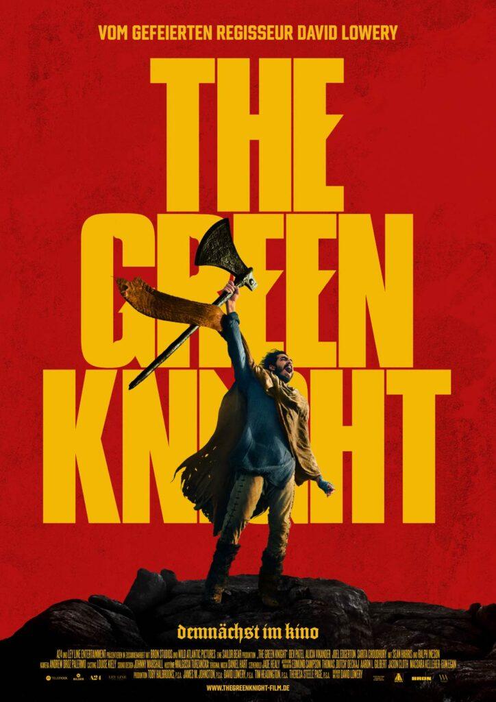 Poster till The Green Knight