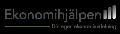 Ekonomihjälpens logotyp sponsor