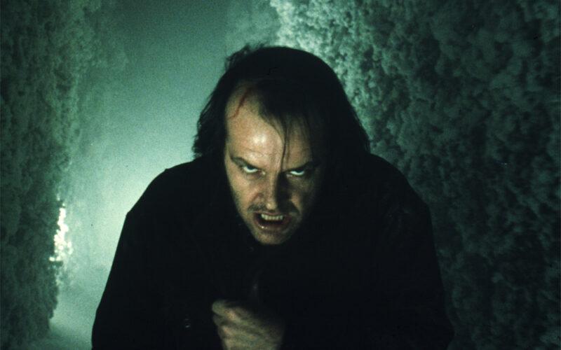 Jack Nicholson i Skräckfilm The Shining (1980)