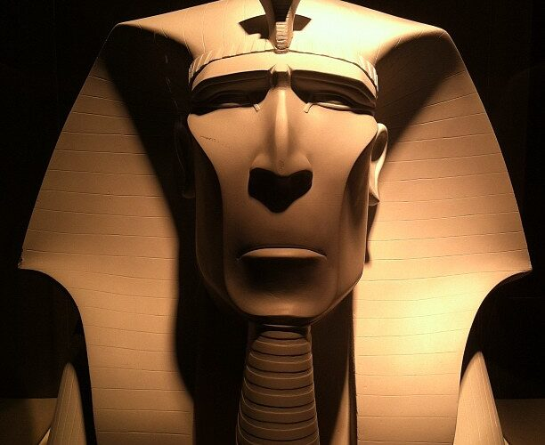 Faraos huvud från Prince of Egypt