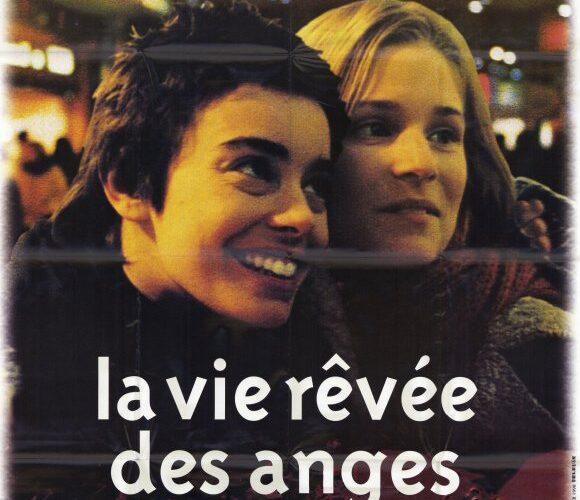 Franska filmaffischen till Änglars Drömliv