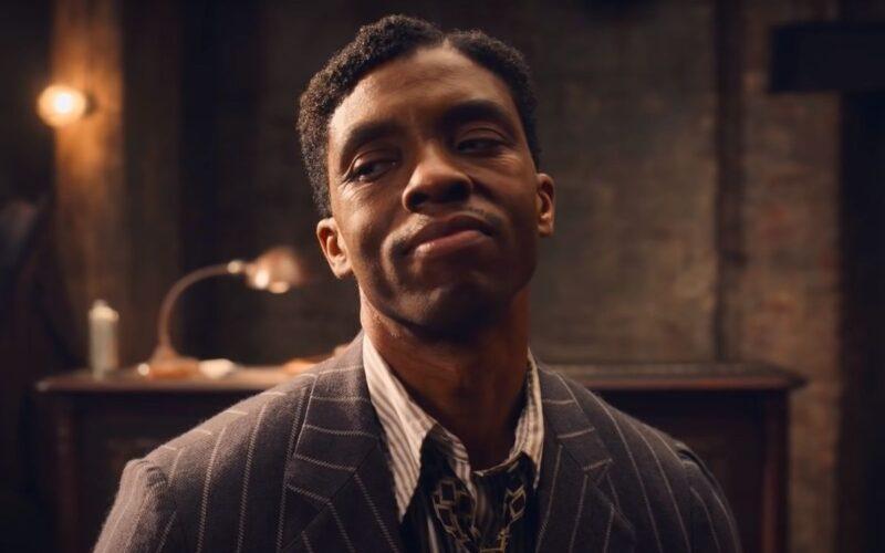 Chadwick Boseman i filmen Ma Raineys Black Bottom som vi recenserar denna vecka